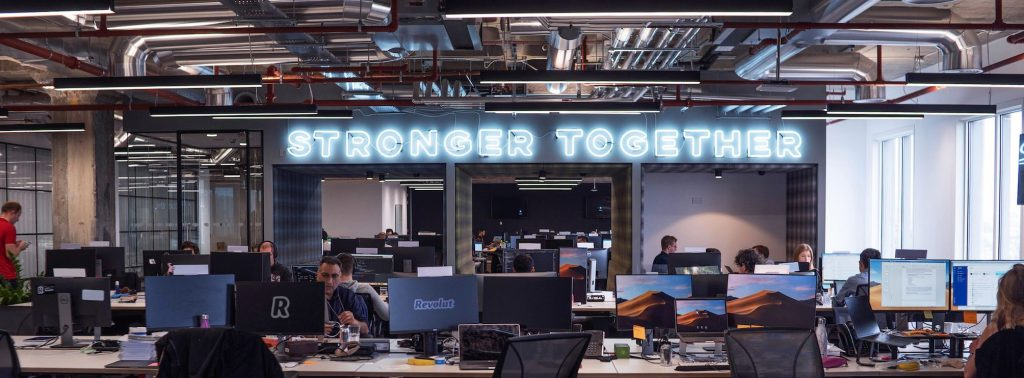 revolut stronger together office